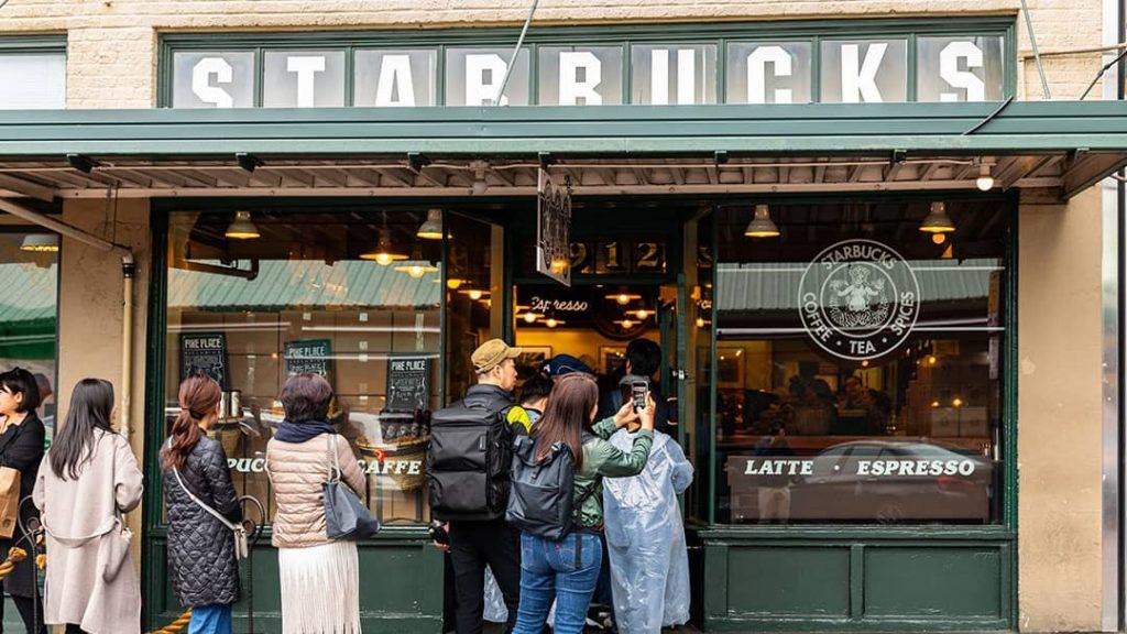 Starbucks in-crown social proof