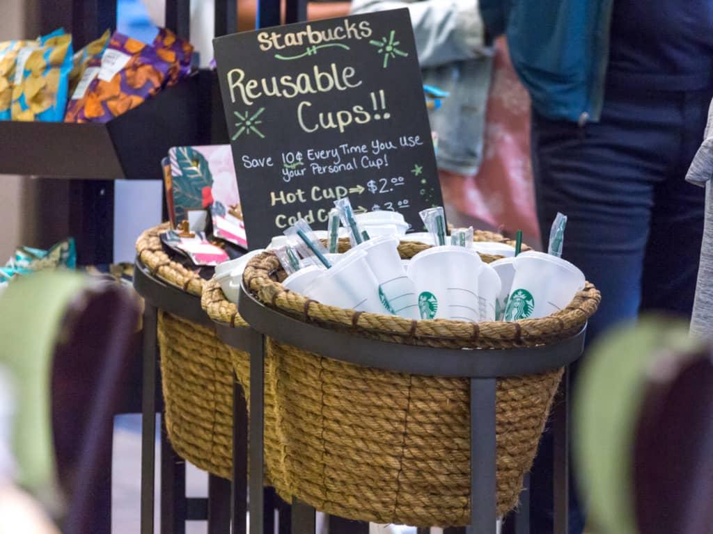 Starbucks Reusable Cups Behavioral Economics